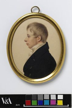 Portrait of Henry Kirke White (1785-1806) (Miniature) | V Search the Collections