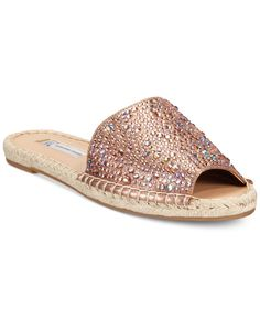 Inc International Concepts Women's Ilata Embellished Espadrille Flat Sandals, Only at Macy's