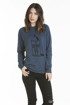 bad can triblend sweatshirt    ////    $62.00