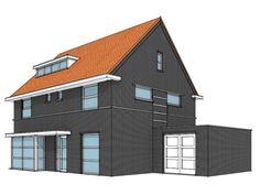Foto van eigentijds huis maison design obas