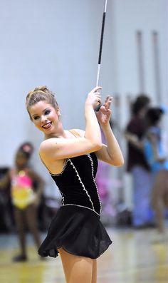 Love what you do! baton twirling