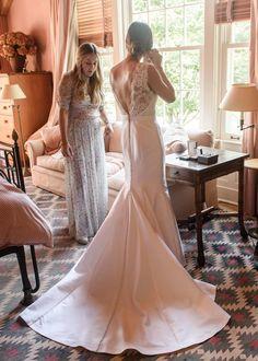 Annabelle Caufman Soudavar and Maximillian Moehlmann's wedding in East Hampton.