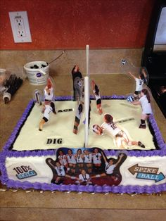 Woah! We love this volleyball cake :)