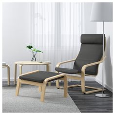 IKEA - POÄNG, Armchair, Finnsta gray, , Layer-glued bent beech frame gives comfortable resilience.The cover is easy to keep clean as it is removable and can be machine washed.To sit even more comfortably and relaxed, you can use the armchair together with a POÄNG ottoman.A variety of seat cushion designs makes it easy to change the look of your POÄNG chair and your living room.The high back provides good support for your neck.10-year limited warrranty. Read about the terms in the limited…