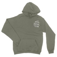 2ca12d98eb45 Anti Social Social Club Hoodie - Anti Social Social Club Sweatshirt - Kanye  West Hoodie -