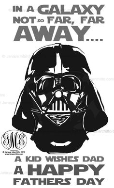 Darth Vader Ultimate Fathers Day Card by ~jmarchitto on deviantART You are in the right place about DIY Father's Day crafts Here we offer you the most beautiful pictures about the DIY Father's Day gif Fathers Day Quotes, Fathers Day Crafts, Happy Fathers Day, Diy Father's Day Crafts, Father's Day Diy, Art Crafts, Darth Vader Father, Daddy Day, Card Sayings