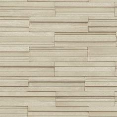 Fine Decor Beige Ceramica Slate Tile Wallpaper