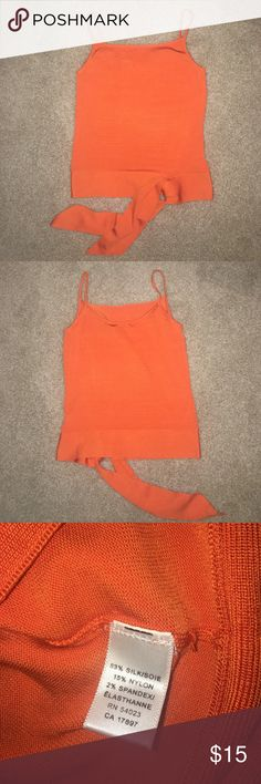 NEW Banana Republic Sweater Tank Top Size Small New with tags.  Tie waist.  The ends of the waist belt have some hardly noticeable marks at the tips (see pics taken with and without flash). Banana Republic Sweaters