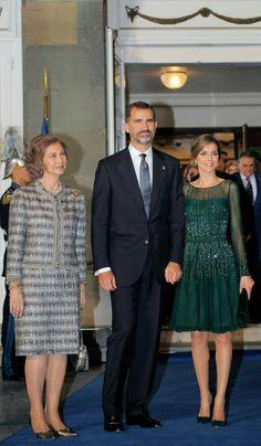 Spanish royals attend the Prince of Asturias Award 10/25/2013
