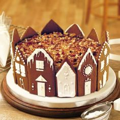 Christmas recipe: Winter wonderland cake