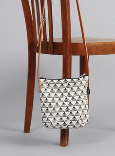 Tasche mit geografischem Muster // bag with geometrical pattern by Minuk via DaWanda.com