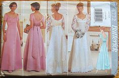 "I love the shape this creates. It's ""Butterick 4772""...but I'm finding there are like 5 million ""Butterick 4772""s out there."