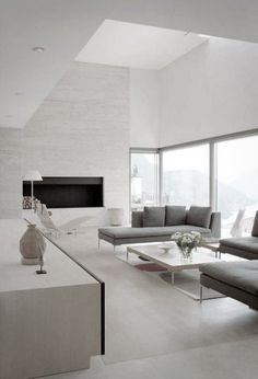 ComfyDwelling.com » Blog Archive » 53 Stunning Minimalist Living Rooms  Interior Styling, Interior