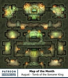 Map of the Month - Back Catalogue Dungeons And Dragons Board, Dungeons And Dragons Homebrew, Fantasy Places, Fantasy Map, Dnd World Map, Rpg Map, Pirate Adventure, Grid, Dungeon Maps