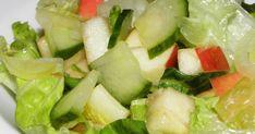 Az ilyen típusú salátákhoz a salátaecetek, balzsam ecetek, vagy citromlé mellett, jófajta hidegen sajtolt étolajat, olívaolajat, vagy számos... Celery, Cobb Salad, Cabbage, Vegetables, Food, Red Peppers, Essen, Cabbages, Vegetable Recipes