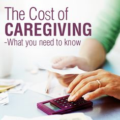 Caregiving expenses that you need to know about