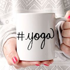 Been slowly working back into my yoga routine. It's been frustrating but so worth it to see how much my body has changed. I never thought I would be as flexible as I was when I was a dancer and I'm pretty darn close! I call that a win with a bad hip for sure. So today I will yoga.   #coffeemug #mug #yoga #coffeelover #yogaeverydamnday #yogainspiration #yogajourney #liveauthentic #instagood #savvybusinessowner #tcctribe #creativebizrebellion #etsyseller #etsyshop #etsy