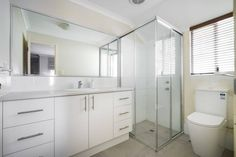 Modus Property 353 Sevenoaks St, Cannington WA 6107 1300-136-384 Bathroom Renovations Perth, Bathroom Repair, Large Shower, Big Windows, Cabinet Makers, Tub, Layout, Design, Bathtubs