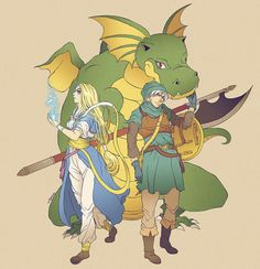 Dragon Quest / Dragon Warrior Monsters -Milayou and Terry