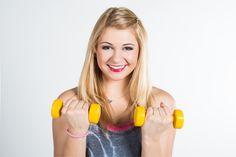 Zuzia #aerobik #fitness #cwiczenia #hantle