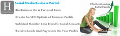 Social media directory: add all your accounts to a profile of your business website