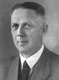 Dr. Friedrich Wilhelm Kritzinger was a German official and state secretary in the Reich Chancellery during the period of Nazi Germany. He was the deputy head of the Reich Chancellery under Hans Lammers, and was present at the Wannsee Conference as Lammers' representative. After the war he was arrested and tried at Nuremberg. He publicly declared himself ashamed of the atrocities committed by the Nazi regime. He was released, and died in Nuremberg the following year.