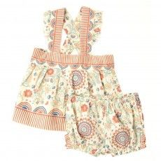 Lorena baby Top / Bloomer Outfit