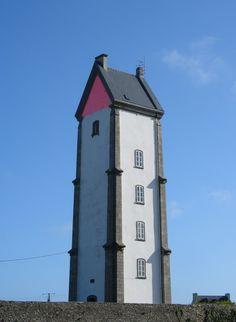 Lanvaon lighthouse, Finistère Plouguerneau, France