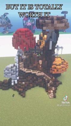 Minecraft Farm, Minecraft Cottage, Minecraft Castle, Cute Minecraft Houses, Minecraft Plans, Minecraft Survival, Minecraft Construction, Amazing Minecraft, Minecraft Blueprints