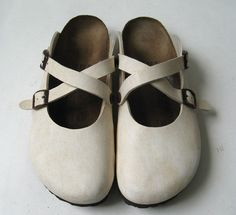 BIRKENSTOCK 39 BIRKI'S CLOGS SHOES DUAL STRAP  *LOVELY* WOMENS SIZE 8 #Birkenstock #Clogs