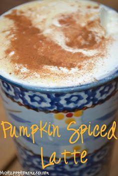 Pumpkin Spice Latte .... oh yeah!