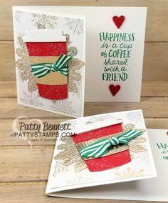 Starbucks Gift Card Holder idea for Christmas | Patty's Stamping Spot | Bloglovin'
