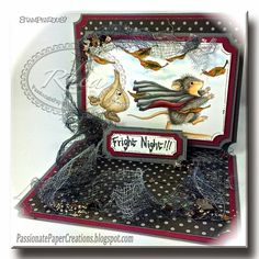 Passionate Paper Creations. The House Mouse Design stamps are so cute!