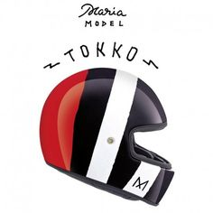 MARIA RIDING COMPANY X.Garage XG100 TOKKO Casco Integrale - Multicolore