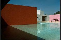 メキシコシティ、1976年、ルイス・バラガンとアンドレアス・カシラスがデザインした家 René Burri
