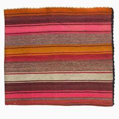 sunset-hued frazada rug from Isabelle Valedian