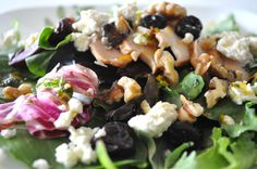 Dr. Phil 20/20 Diet Recipes - California Cherry and Walnut Salad