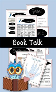 Book talks are a fun way to practice public speaking. Students will be able to showcase their favorite book with the support of graphic organizers, rubric and posters to guide their thinking. Presentation Rubric, Oral Communication Skills, Language Arts Worksheets, All About Me Activities, Back To School Bulletin Boards, 5th Grade Teachers, Classroom Games, Latest Books, New School Year