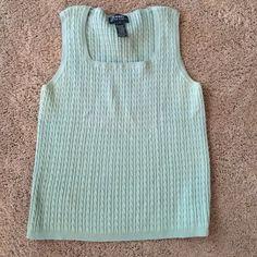 Ralph Lauren Sleeveless Sweater Ralph Lauren Sleeveless Sweater. Size Large Ralph Lauren Sweaters Crew & Scoop Necks