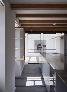 Apartment with a view, Nyon - Valentine Bärg Architectures Renovations, Apartment, Kitchen Design, Nyon, Interior, Minimalism, Home Decor, Minimal Kitchen, Interior Architecture
