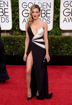 Worst: Katie Cassidy | This dress was a little too revealing for our taste. Best to go cleavage, OR legs, no? via @stylelist