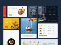 Food & Drink UI kit