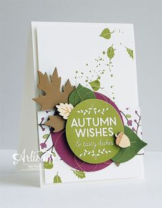 Stampin' Cards and Memories: Stampin'Up Artisan Bloghop - SU - Autumn - Among the Branches