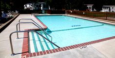 Cool off in our pool on a hot day or relax in the hot tub.
