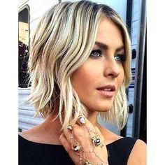 Carre plongeant cheveux glamour