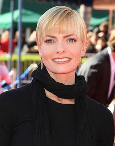 jaime pressly haircut | Jaime Pressly Actress Jaime Pressly attends the premiere of 'The LEGO ...