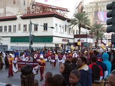 Thanksgiving Day parade in New Orleans