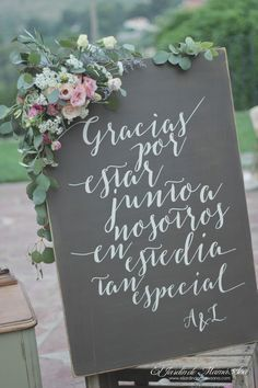 Angelo and Lucía& wedding is marked by her love for architecture, the p . - Angelo and Lucia& wedding is marked by their love for architecture, poetry, the country atmos - Wedding Signs, Wedding Bride, Diy Wedding, Rustic Wedding, Dream Wedding, Wedding Day, Party Wedding, Vintage Wedding Flowers, Flower Bouquet Wedding