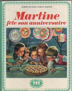 Martine fête son anniversaire, Marcel Marlier, Editions Casterman