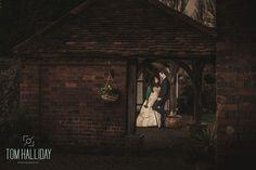Dusk photography - Tom Halliday Photography - vintage style wedding - UK wedding photography - rustic quirky vintage wedding - country wedding